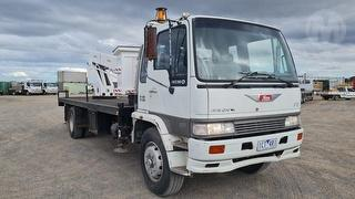 1993 Hino Raven FE EWP (Truck Mounted) GVM 13,500kg Photo