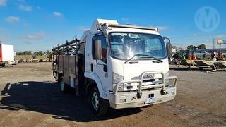 2010 Isuzu FRR700 Auto EWP (Truck Mounted) GVM 12,000kg Photo