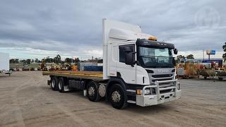 2014 Scania P360 8X2 Tray GVM 33,200kg Photo