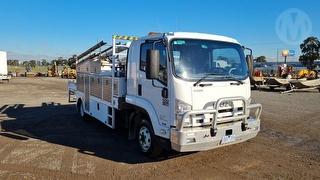 2010 Isuzu FRR600 Medium Service Truck GVM 11,000kg Photo