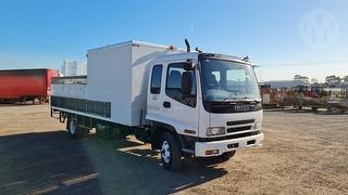 2007 Isuzu FRR500 Long Service Truck GCM 16,000kg Photo