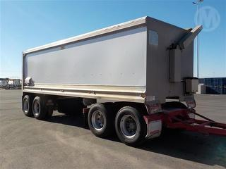 2017 Muscat Quad Dog Tipping Trailer Photo