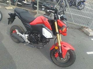 Honda MSX125 Grom Motorcycle Photo