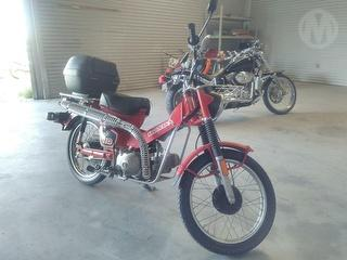 2009 Honda CT110 Motorcycle (WA Ex Council) Photo