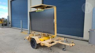 2005 Techroad 8782 Variable Message Board ATM 750kg Photo