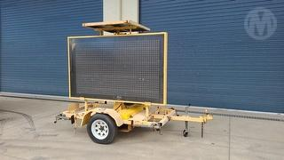 2005 Techroad 8766 Variable Message Board ATM 750kg Photo