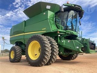 2013 John Deere S680 No Front Harvester (Grain) (wa) Photo