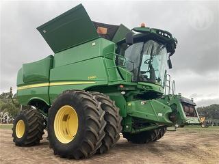 2012 John Deere S680 No Front Harvester (Grain) (WA) Photo