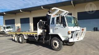 1991 Isuzu FVZ1400 Long Crane Truck GVM 22,500kg Photo