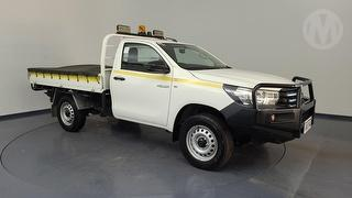 2018 Toyota Hilux GUN125R 4X4 Workmate 2D Cab Chassis Photo