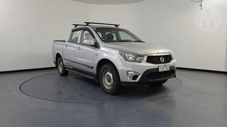 2013 Ssangyong Actyon A200S Tradie 4D Dual Cab Utility Photo
