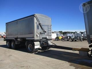 2007 Lusty EMS 3a-dog Tipping Trailer ATM 25,500kg Photo