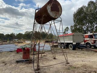 Overhead Fuel Tank Photo