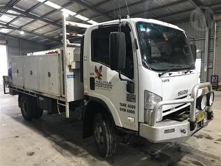 2008 Isuzu NPS 300 Service Truck (NSW) Photo