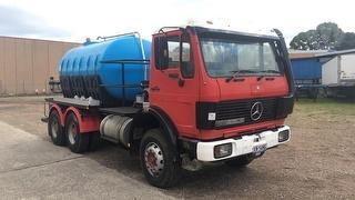 1985 Mercedes-Benz 2222 V Series Water Tanker GVM 22,000kg Photo
