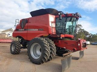 2011 Case IH 8120 & 45ft Draper front Harvester (Grain) (WA) Photo