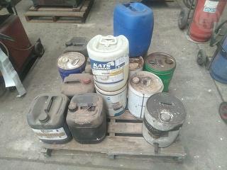 Custom oil Drums Workshop Supplies Photo