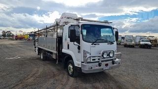 2011 Isuzu 600 FRR EWP (Truck Mounted) GVM 11,000kg Photo