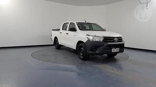 2018 Toyota Hilux GUN/TGN 120-130 TGN121R Workmate 4D Dual Cab Utility Photo