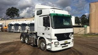 2008 Mercedes-Benz Actros 2655 Prime Mover GVM 26,000kg Photo