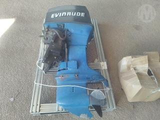 Evinrude 70hp Outboard Motor Photo