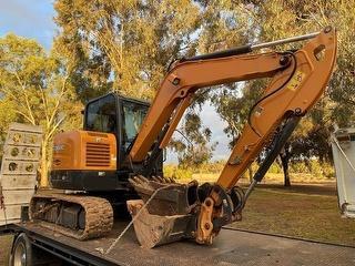 Case CX60C Excavator Photo