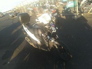2018 Suzuki 113cc Motorcycle Photo