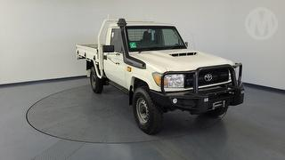2017 Toyota Landcruiser 76/78/79 Series Workmate 2D Cab Chassis (Qfleet) Photo