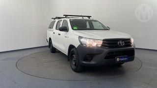 2017 Toyota Hilux GUN/TGN 120-130 GUN122R Workmate 4D Dual Cab Utility Photo