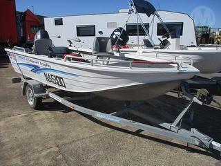 2001 Quintrex 435 Hornet Trophy Boat Photo