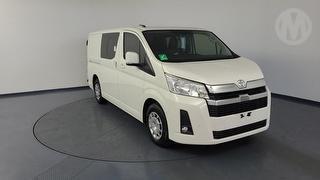 2020 Toyota Hiace H300 LWB Crew Van 4D Van (Qfleet) Photo