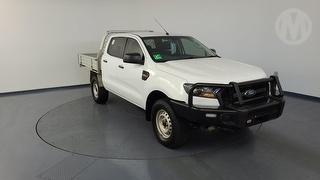2017 Ford Ranger PX MKII XL 3.2D 4WD 4D Dual Cab Chassis (QFleet) Photo
