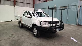 2012 Holden Colorado RG LX 4D Dual Cab Chassis Photo