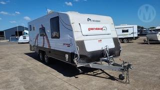 2013 Fleetwood Winsor GC668S Caravan ATM 2,820kg Photo