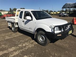 2012 Nissan Navara D40 RX Extra Cab Utility (NSW) Photo