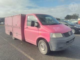 2007 Volkswagen Transporter T5 LWB Cab Chassis Photo
