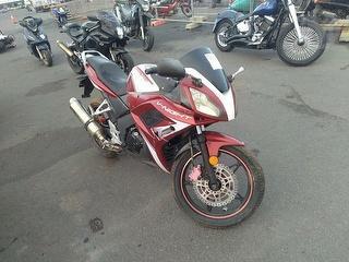 2012 CF Moto 150 V-night Motorcycle Photo