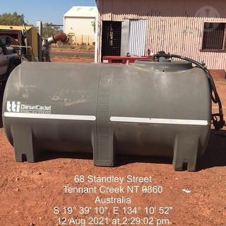 TTI 3000l Diesel Tank Photo