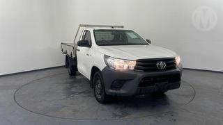 2018 Toyota Hilux TGN121R 4X2 Workmate 2D Cab Chassis Photo