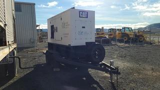 2011 Pakenham 80KVA Trailer (generator) Photo