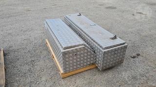 2 x Aluminium Tool Box Photo