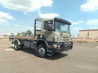 2002 Scania Cargo Truck Troop Carrier GVM 20,100kg Photo