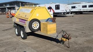 2009 Cityfleet Pressure Washing Unit Box Trailer ATM 1,500kg Photo