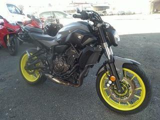 2016 Yamaha MT07 Motorcycle Photo