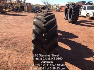 Assorted Tractor Tyres Photo