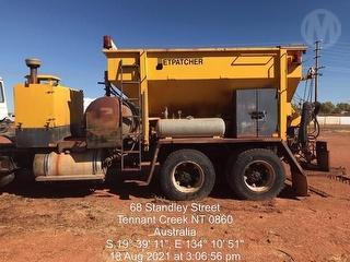 Jetpatcher Truck Mounted Bitumen Sprayer Body Only Photo