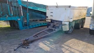 1994 Kempla Silver Tipping Trailer Photo