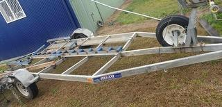 2003 Belco Single Axle Trailer Trailer Only Photo