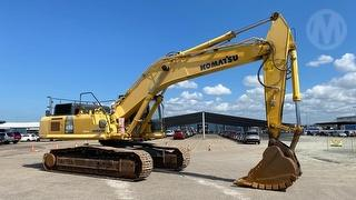 2012 Komatsu PC450LC-8 Excavator Photo