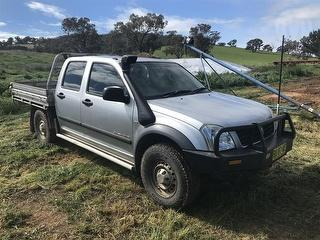 2005 Holden Rodeo RA LX Dual Cab Utility (NSW) Photo